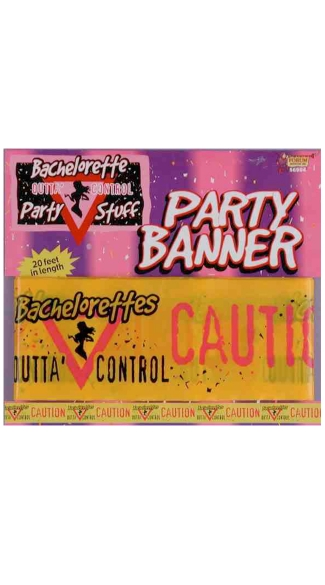 Bachelorette Party Banner - Yellow