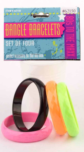 Deluxe Bangle Bracelets - Multicolor