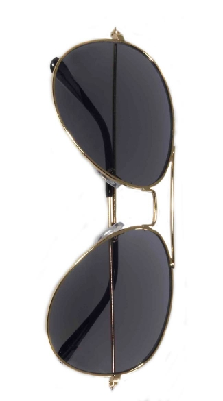 Aviator Glasses - Gold