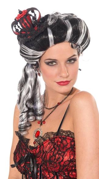 Evil Queen Mini Crown - Black/Grey