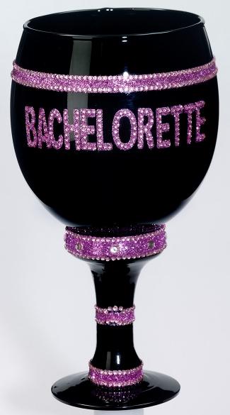 Jumbo Bachelorette Goblet - Black