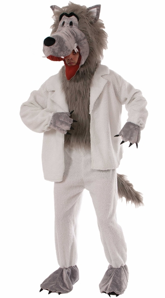 Men's Sheep Impersonator Costume - Gray