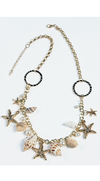 Mermaid Shell Necklace - As Shown