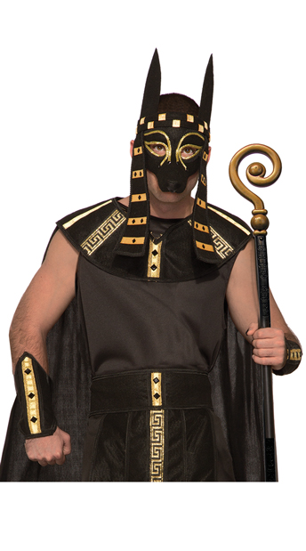 Men's Mythical Anubis Costume - As Shown