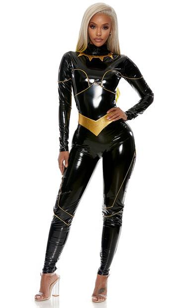 Bad Blood Villain Costume - Black/Gold