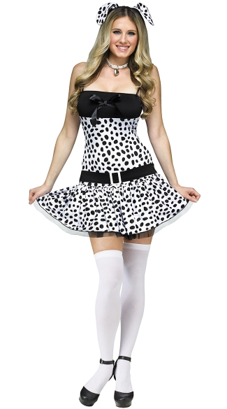 Sexy Dalmatian Costume  sc 1 st  Yandy : dalmatian dress up costume  - Germanpascual.Com