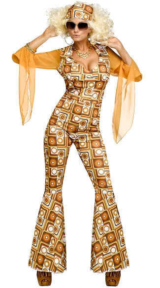 disco diva adult costume