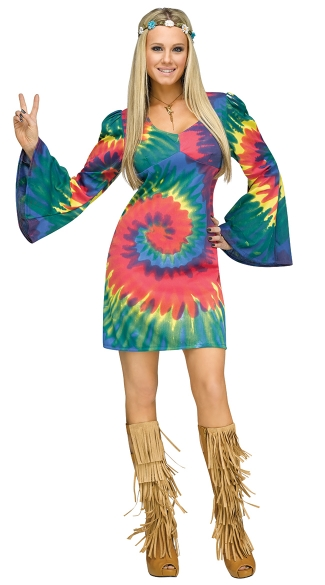 Groovy Gal Costume  sc 1 st  Yandy : groovy girl halloween costumes  - Germanpascual.Com
