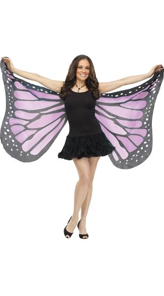Soft Butterfly Wings - Purple