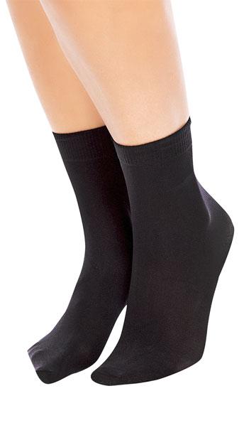 a2423084a07 Soft Micro 40 Ankle Socks - Black