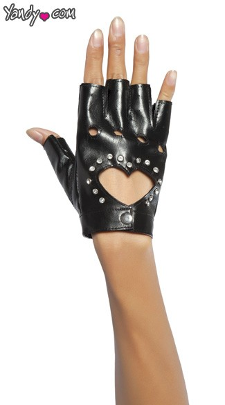 Glove W/cut - Black