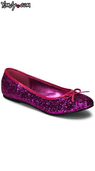 Hot Pink Glitter Star 16G - Hot Pink Glitter
