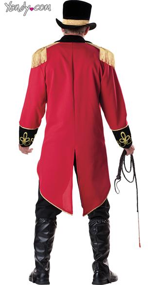 Men's Ringmaster Costume - As Shown