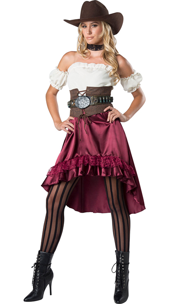 fa3d86bb6c5 Sassy Saloon Gal Costume - As Shown