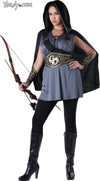 Plus Size Woodland Huntress Costume  sc 1 st  Yandy & Plus Size Woodland Huntress Costume Plus Size Hunter Costume Plus ...