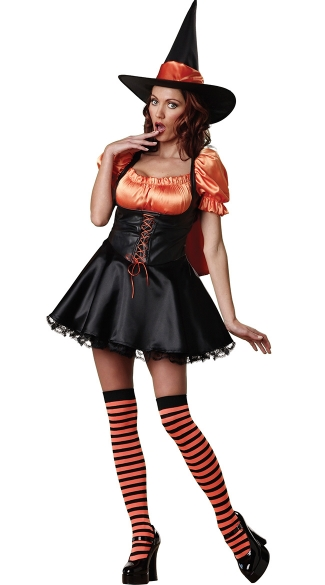 Wicked Wishes Costume, Sexy Witch Costume, Evil Witch Halloween Costume, Wicked Witch Costume