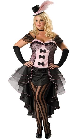 Plus Size Burlesque Beauty Costume Sexy Plus Size Burlesque Costume
