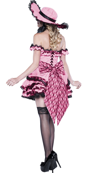 Deluxe Southern Belle Costume - As Shown