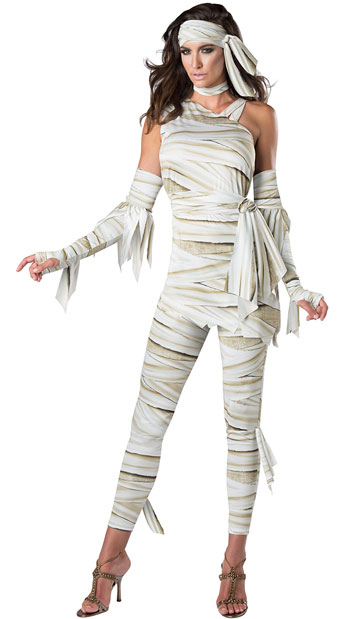 Who's Your Mummy Costume - As Shown