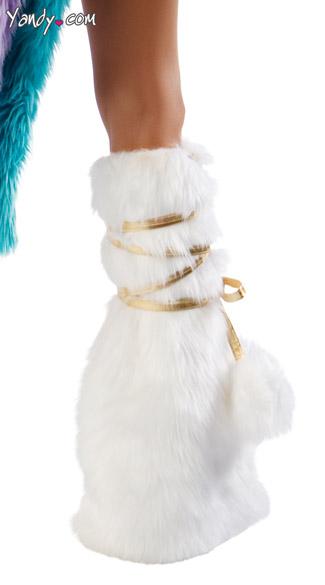 Deluxe Unicorn Legs - White