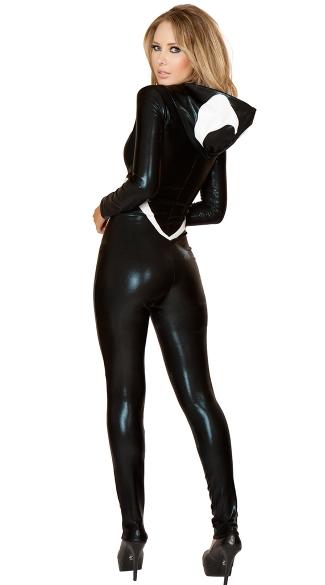 Black Spider Costume - Black/White