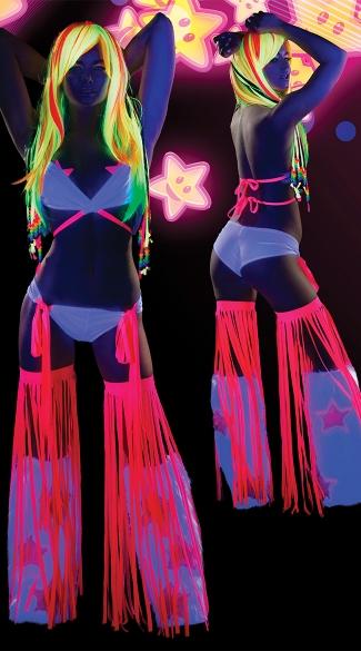 Flirty Fringe Ravewear Set & Flirty Fringe Ravewear Set Fringe Dance Wear Fringe Rave Outfit ...
