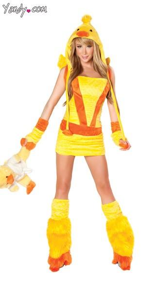 Ducky Gloves - Yellow
