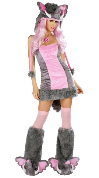 Deluxe Pink Elephant Costume - as shown