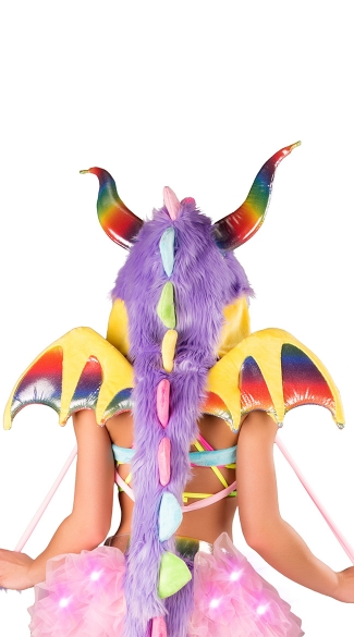 Rainbow Dragon Wings, Dragon Fly Wings, Dragonwings, Rainbow Wings