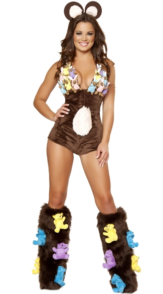 Deluxe Brown Bear Costume - as shown