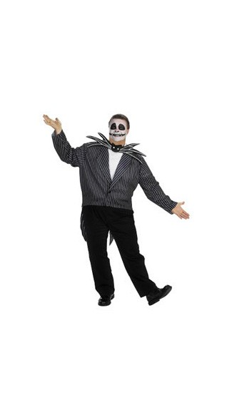 Jack Skellington Costume - Extra Large Jack Skellington Costume - Extra Large Jack Skeleton Costume