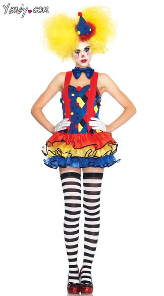 Giggles The Clown Costume Clown Costume Circus Clown Costume Circus Costume Sexy Clown Costume  sc 1 st  Yandy & Giggles The Clown Costume Clown Costume Circus Clown Costume ...