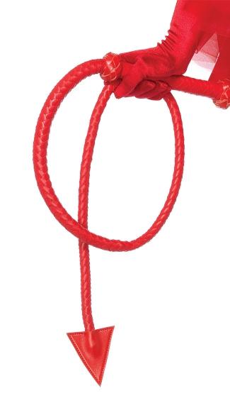 Devil Tail Whip Devil Whip Devil Costume Whip Red Whip