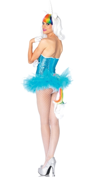 Sequin Unicorn Costume Kit - as shown