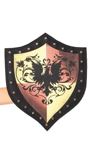 Heraldic Warrior Shield - Black