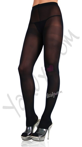 Plus Size Nylon Spandex Tights - as shown