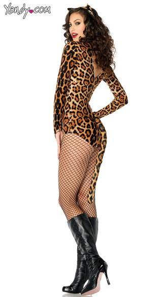 Wildcat Costume - Leopard Print