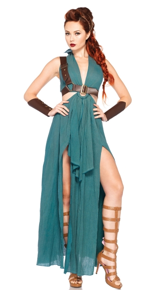 Warrior Maiden Costume, Womens Warrior Costume, Female Warrior Costume