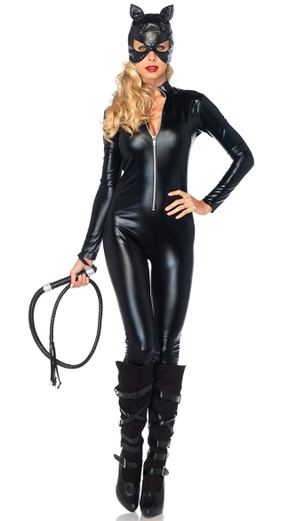 Cat Lady Costume Kit, Dangerouse Cat Costume Kit, Black Cat Costume