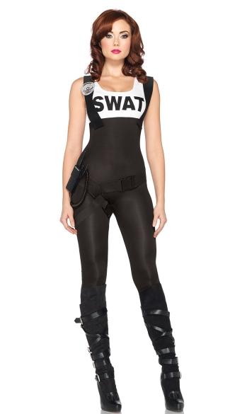 SWAT Bombshell Costume - Black