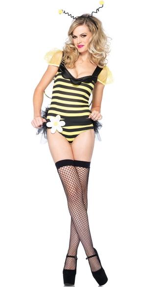sc 1 st  Yandy & Bumble Bee Beauty Costume Adult Bee Halloween Costume