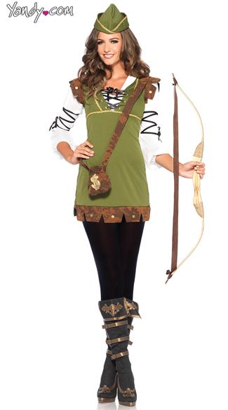 Robin Hood Honey Costume - Green
