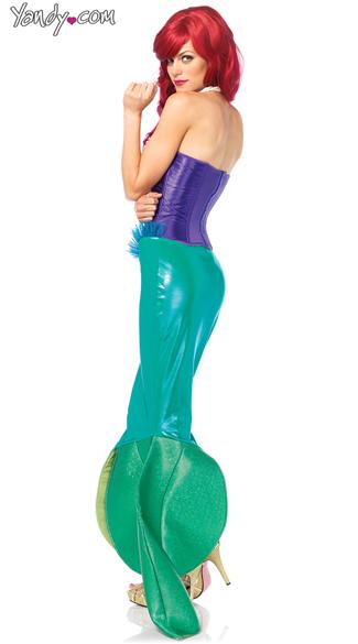 Fairytale Mermaid Costume - Green/Purple