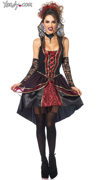 Sexy Vampire Queen Costume, Sexy Vampire Costume, Vampire -5420