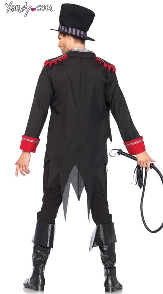 Men's Sinister Ring Master Costume - As Shown