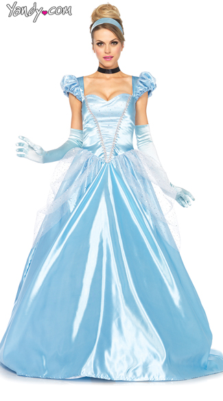 Classic Blue Princess Costume Classic Cinderella Costume Princess Costumes Cinderella Ball Gown Costume  sc 1 st  Yandy : costumes of princess  - Germanpascual.Com