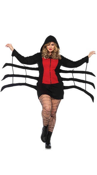 Plus Size Cozy Spider Costume Plus Size Spider Dress Costume Plus Size Sexy Spider Costume  sc 1 st  Yandy & Plus Size Cozy Spider Costume Plus Size Spider Dress Costume Plus ...