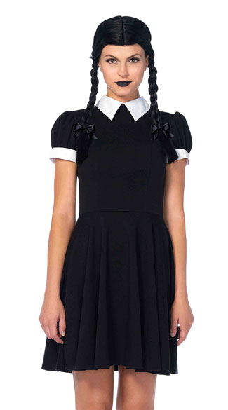 wednesday addams halloween costume costume child costume evil child 30530