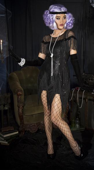 Roaring 20 S Trixie Costume Sexy Flapper Costume Sequin