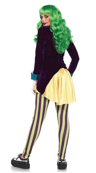 Wicked Trickster Costume - As Shown